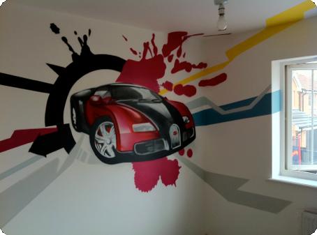 Graffiti Bedrooms Kids Bedroom Artwork Childrens Bedroom
