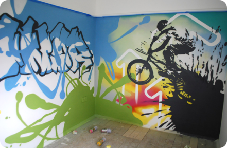 Graffiti Bedrooms | Kids Bedroom Artwork | Children's Bedroom ...