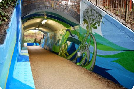 Professional Mural Artists Urban Regeneration Large