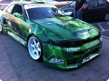 Graffiti Vehicles Photoreal Hulk Drift Car