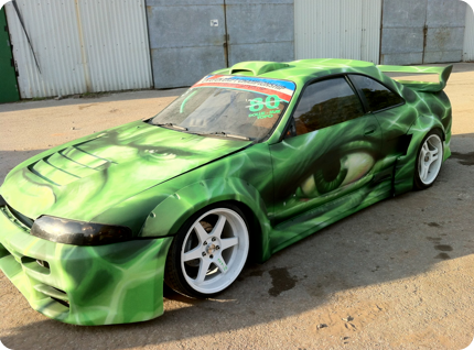 Graffiti Artist to Paint Cars & Vehicles