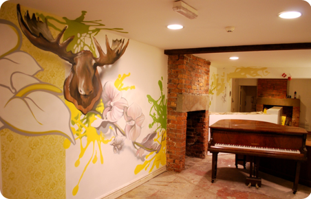 Home Interiors Mural Artist Graffiti Art Interior Design