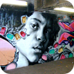 Hire a graffiti portrait painter