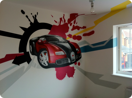 Graffiti Kids Bedrooms by Urban Canvas