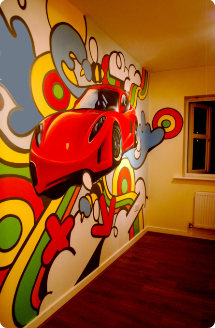 Graffiti bedrooms kids bedroom artwork children 39 s bedroom mural painter and artist Painting graffiti on bedroom walls