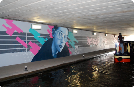 Kidderminster Canal Tunnel by Urban Canvas