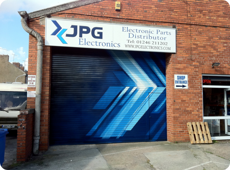 JPG Shop Shutters By Urban Canvas