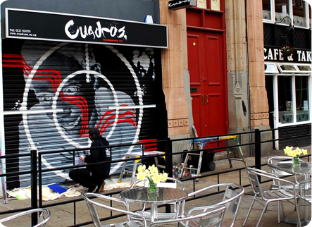 Cuadros Shutters Hockley Nottingham by Urban Canvas