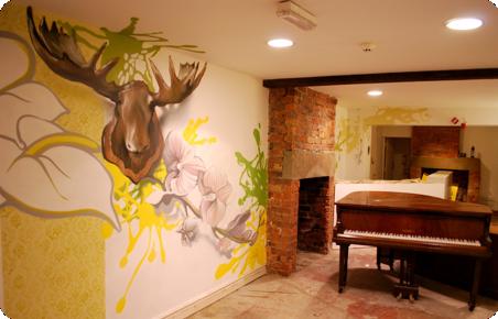 Home Interiors Mural Artist Graffiti Art Interior